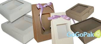 eflute gift boxes with windows fluted box wholesale prices