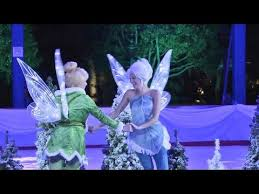 tinker bell periwinkle open disneyland u0027s ice rink downtown