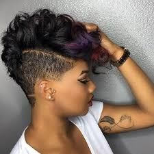 60 great short hairstyles for black women undercut hairstyle