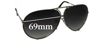 porsche design sunglasses design p8478 replacement sunglass lenses 69mm wide