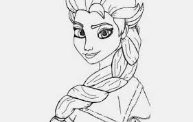 100 ideas frozen elsa printable coloring sheets