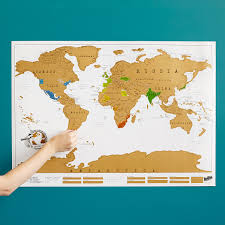 New World Map by Scratch Map Scratch Off World World Poster Uncommongoods