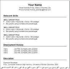 waitress combination resume sample combination resume format