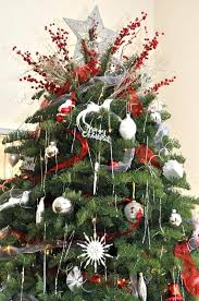 tree top decoration ideas white tree decorations ideas and gold