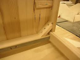attaching legs to a table help attaching table apron and legs woodworking talk woodworkers