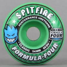 formula 4 spitfire spitfire wheels spitfire formula four classic 99 duro ice mint