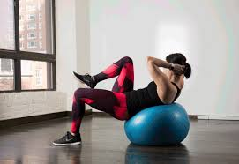 Balance Ball Chair With Arms Abs Workout Best Stability Ball Moves For Your Core Greatist
