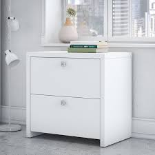 White Lateral File Cabinet Kathy Ireland Office By Bush Echo 2 Drawer Lateral Filing Cabinet