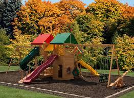 play mor 818 backyard wonder wooden swing sets