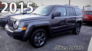 jeep patriot 2014 interior 2015 jeep patriot high altitude youtube