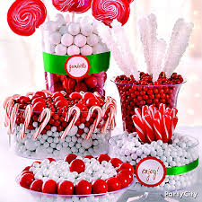 christmas candy buffet idea party city