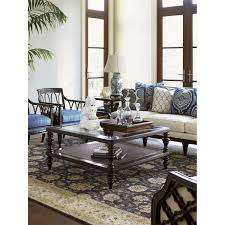 Tommy Bahama Dining Room Furniture Tommy Bahama 537 947 Royal Kahala Tropic Coffee Table In Kona