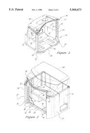 kenworth truck bedding patent us5560673 truck cab and sleeper assembly google patents