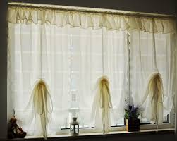 Balloon Curtains For Kitchen by Ruffled Kitchen Curtains Promotion Shop For Promotional Ruffled