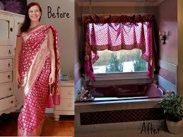 Sari Curtain 2 Sari Curtain Project Restyle The Fainting Goat Blog