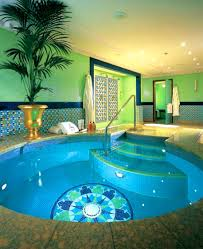 interior archaiccomely luxury swimming pool house design