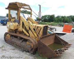 john deere 450 track loader item da7919 sold june 22 co