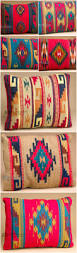 the colorful designs of zapotec southwestern pillows makes them