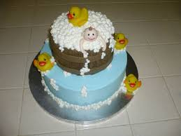 baby shower tub baby shower tub and ducks cakecentral