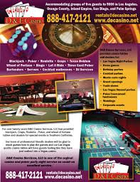 request for a casino party