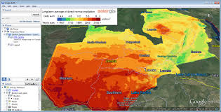 Google Maps Disney World by Solar Radiation Maps For Google Earth Overview Solargis