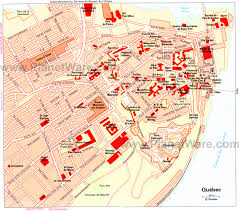 maps update 12001063 tourist map of quebec city u2013 14 toprated