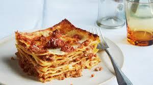 cuisine lasagne lasagna bolognese recipe bon appetit