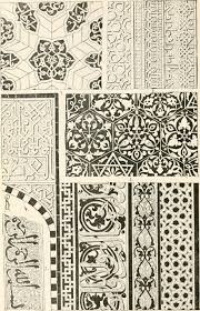file styles of ornament exhibited in designs and arranged in