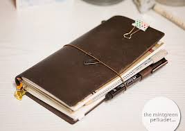 travelers notebook images Planner peace my new midori travelers notebook the mintgreen jpg