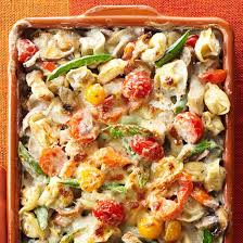 Dinner Casserole Ideas Delicious One Dish Dinners For Spring Vegetable Bake Tortellini