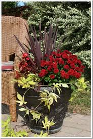 Patio Potato Planters Fall Planter Ideas Potato Vines Planters And Fall Containers