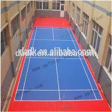 mini tennis court portable backyard tennis court diy tennis court
