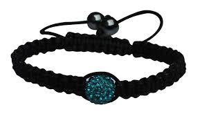 shamballa bracelet price images Shamballa bracelet with 1 aqua green rhinestone jpg