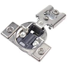 kitchen cabinet hardware hinges shop richelieu 10 pack 4 1 2 in x 2 1 2 in gray concealed soft