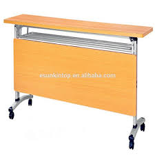 furniture office office training table with wheels folding