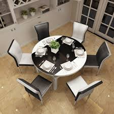 usd 303 17 retractable solid wood folding table round 6 people 8