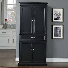 Kitchen Pantry Cabinets Stylish Tall Kitchen Pantry Cabinet All Home Decorations