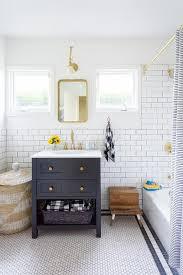 Blue Bathroom Vanity by Dark Blue Bathroom Vanity With Gold Accents Jennifer Muirhead