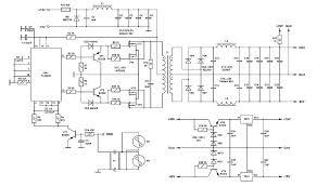 wiring diagram 400w atx power supply circuit diagram u00b160v