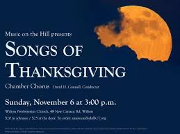 gathering together with songs of thanksgiving new canaan ct patch