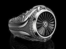 men ring men ring turbine 3d print model cgtrader