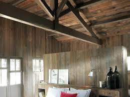 bardage bois chambre bardage bois chambre stilvoll lambris chambre mural en bois dans