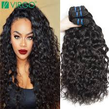 wet and wavy sew in hair care brazilian virgin hair water wave natural curly weave human hair 4