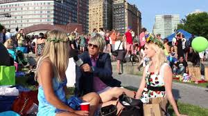 swedish midsummer celebration in new york city