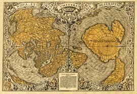 Mount Sac Map Oronteus Finaeus Map Shows Antarctica Ice Free