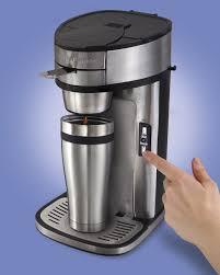 hamilton beach 49981c single serve coffee maker for ground coffee