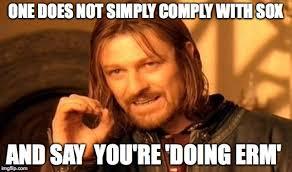 Erm No Meme - more clues on draft erm framework radical compliance