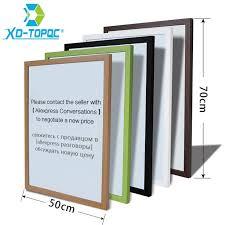 tableau bureau xindi 50 70 cm 10 couleurs mdf cadre tableau blanc magnétique