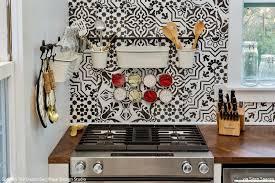 diy tile kitchen backsplash tile stencils for walls floors and diy kitchen decor royal