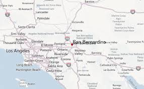 san bernardino ca map san bernardino location guide